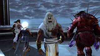 God of War 3 PS4 - Gods Vs Titans Opening Cutscene (1080p 60fps) PS4 Pro