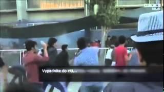 Migranter startar upplopp i Grekland