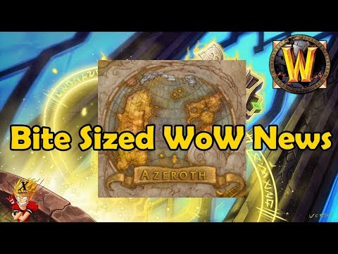 Bite Sized WoW News - Whispers of a Frightened World scenario is live on NA servers