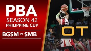 Finals Game 2: Ginebra vs. San Miguel - OT | PBA Philippine Cup 2016 - 2017