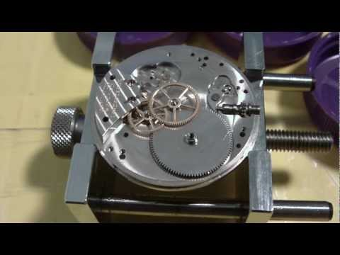 How I assemble a pocket watch, Hamilton 916