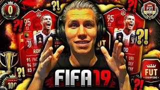 Den ULTIMATE GUIDE for FUT CHAMPIONS på FIFA 19 📜🔥 **MITT EKSTREME LAG & CUSTOM TACTICS**