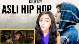 Asli Hip Hop - Trailer reaction Announcement - Gully Boy | Ranveer Singh | Alia Bhatt |