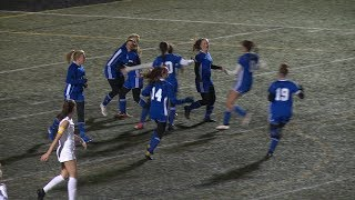 Highlights: Old Lyme 2, Northwest Catholic 0 in Class S girls soccer semi