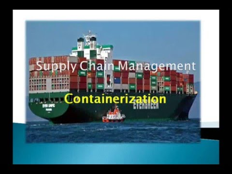 Containerization PPT Supply Chain Management
