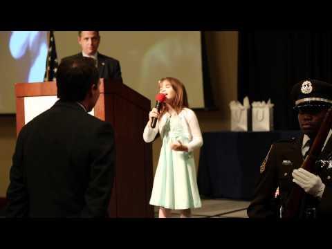 Kaitlyn Maher - 8yo - God Bless America Medley - 4/20/2012