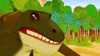 My Friend Trex 2   kids dinosaur videos   Franky Kids TV   Franky and Friends   Cartoon for kids