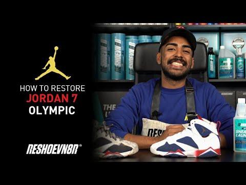 327148295aa266 Vick Almighty Restores Alternate Olympic Jordan 7 s with Reshoevn8r ...