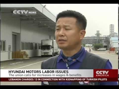 Hyundai motors labor issues