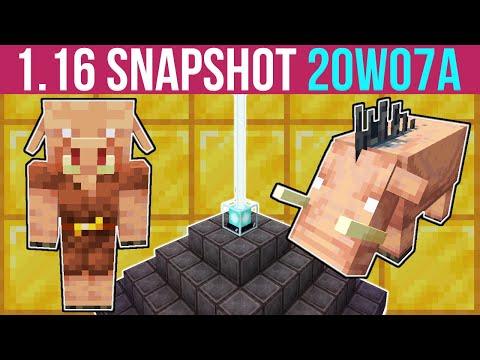 Minecraft 1.16 Snapshot