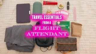 Must Have Travel Essentials from a Flight Attendant