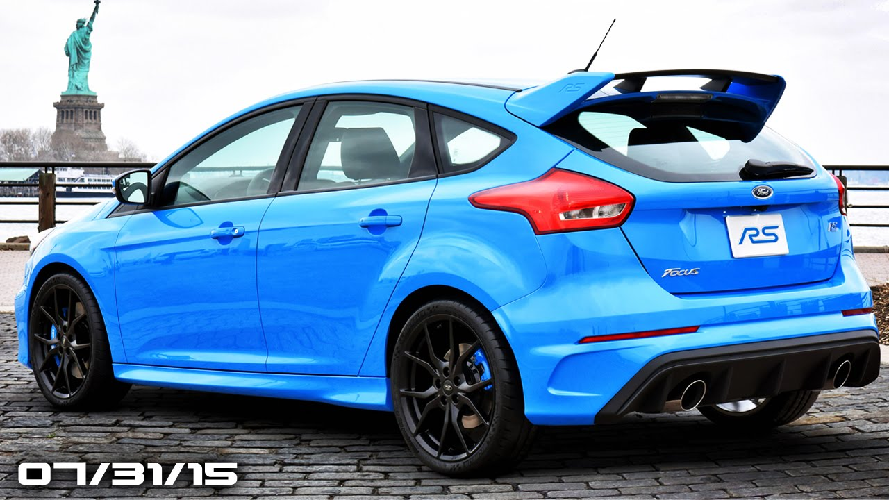 New Ford Focus RS Price, Lamborghini Huracan Roadster, 2016 Porsche ...