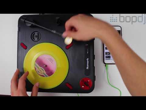 Numark PT-01 Portable Scratch Turntable Talk-Through | Bop DJ