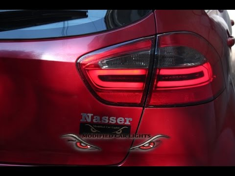 Kia Rio 2015 Tail Lights #1