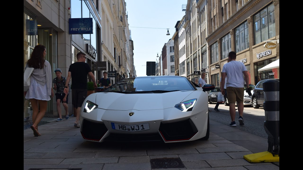 Tim Wiese Lamborghini Aventador