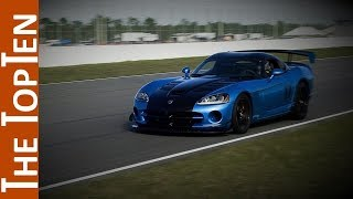 The Top Ten Fastest American Made Cars