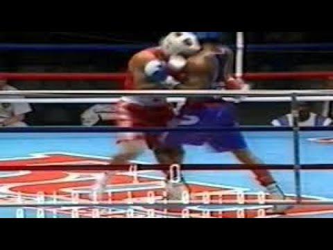 Бокс. Игры доброй воли 1994. Санкт-Петербург. Финал в весе до 71 кг. Сергей Караваев.