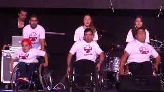 Chile inauguró los Primeros Juegos Parasuramericanos Stgo 2014