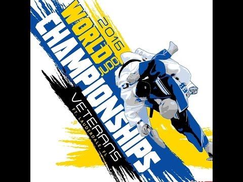 2016 Veterans World Judo Championships Mat 4 Day 3