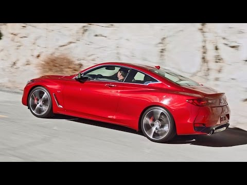 All-New 2017 Infiniti Q60 sports coupe