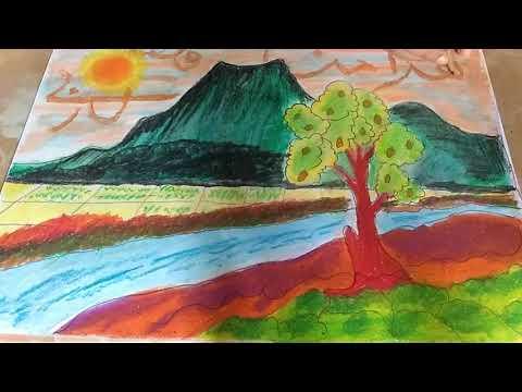 Kaligrafi Arab Crayon Youtube