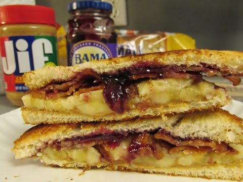 How to make a Elvis Presley Sandwich. Health food