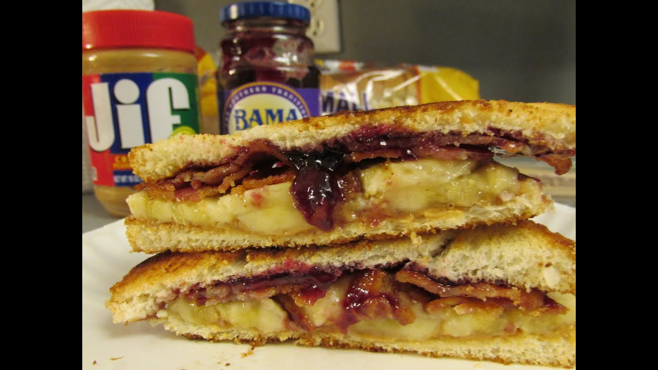 How To Make A Elvis Presley Sandwich Health Food Youtube
