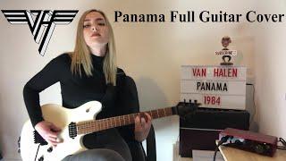 PANAMA - VAN HALEN   Guitar Cover + Solos by Anna Cara