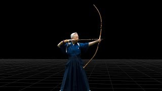 KYUDO - Mariko Satake/4D View DEMO - IS JAPAN COOL? DOU(弓道 - 佐竹 万里子)