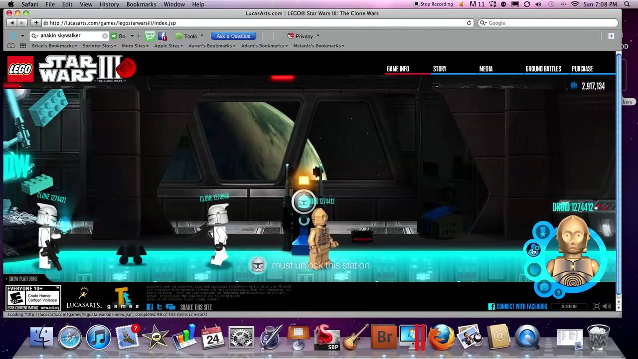 Uncategorized Star Wars Games Online lego star wars 3 the clone beta game allmost all people youtube people