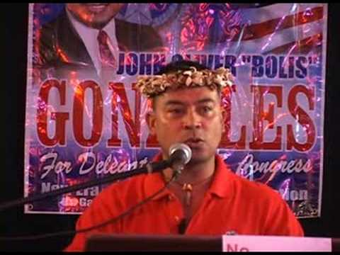 "John Oliver ""Bolis"" Gonzales for US Congress 2008 Pt.3"