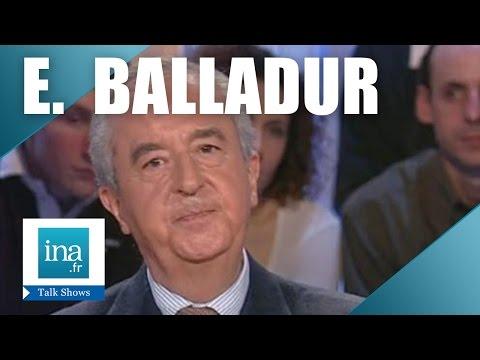 Thierry Ardisson : L'Ardiview de Edouard Balladur | Archive INA