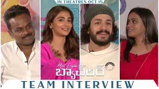Most Eligible Bachelor Team Special Interview | Akhil Akkineni, Pooja Hegde, Bhaskar | #MEBOnOct15th Image