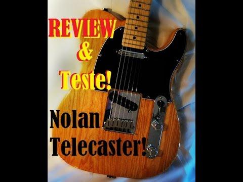 Review & teste Guitarra Nolan Telecaster
