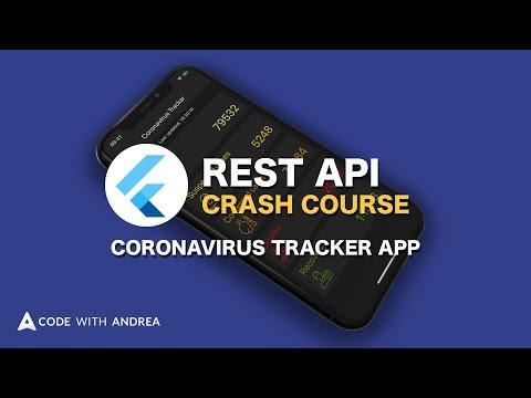 Flutter REST API Crash Course Launch: Build a Coronavirus Tracking App