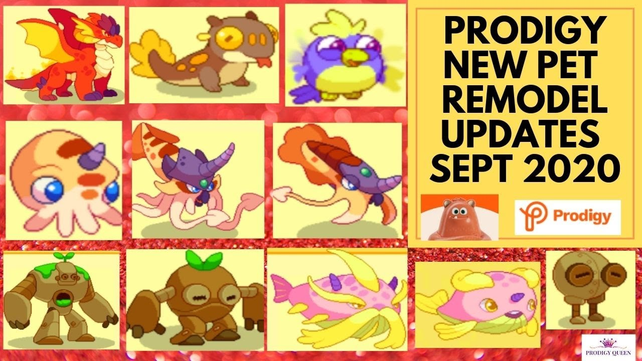 Prodigy Math Game New Prodigy Pet Remodel Updates 2020 Must Watch Youtube
