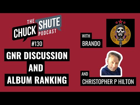 GnR Discussion & Album Ranking (with Christopher P. Hilton & Brando)
