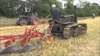 Crawler Tractor Ploughing @ Rosemount 2013