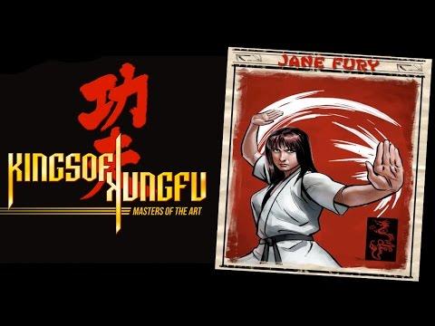 Kings of Kung Fu: Jane Fury (Arcade Mode)
