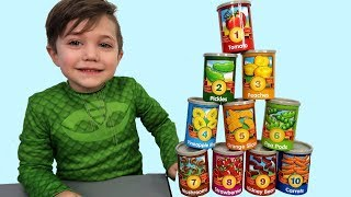 Learn to Count Numbers with healthy fruits toys for kids