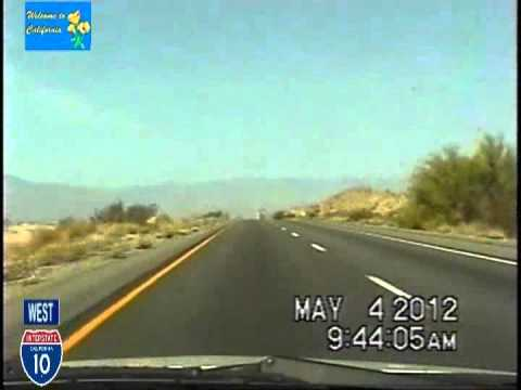 Phoenix az to los angeles ca time lapse drivewest i 10 youtube phoenix az to los angeles ca time lapse drivewest i 10 sciox Choice Image