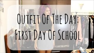 OOTD First Day Of School | 2014 | InTheLandOfStyle Thumbnail