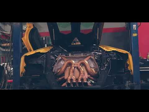 Installing Lamborghini Aventador Titanium Exhaust  | Crazy Sounds!