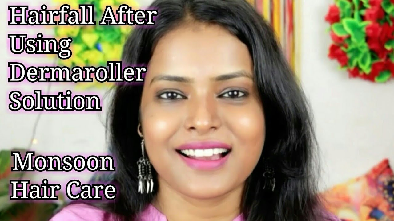 More Hairfall After Using Derma Roller What is The Solution   Sunday Q&A Shinny Roops