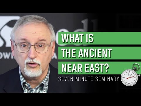 John Walton: What is the Ancient Near East?