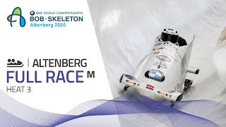Altenberg | BMW IBSF World Championships 2020 - 2-Man Bobsleigh Heat 3 | IBSF Official