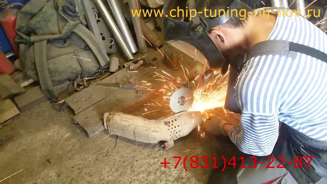 Чип тюнинг Infiniti FX 35 от Paulus и удаление катализатора