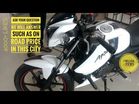 Apache Rtr 160 Bs4 2018 Bike Top Speed On Road Price Delhi Tvs