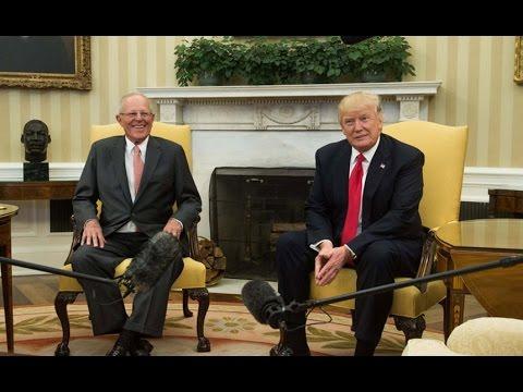 El encuentro entre Pedro Pablo Kuczynski y Donald Trump en la Casa Blanca