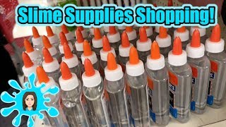 Shopping For Slime Supplies With Joe Maple!